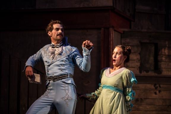 Monbijou-Theater Sommer 2018 Goethe: Die Mitschuldigen. Foto Bernd Schönberger